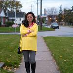 plaid shirt oversized sweater