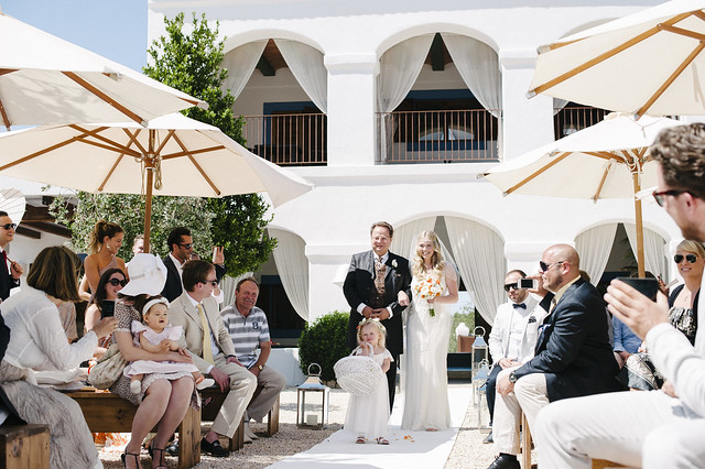 Alex & Ben, real Ibiza wedding