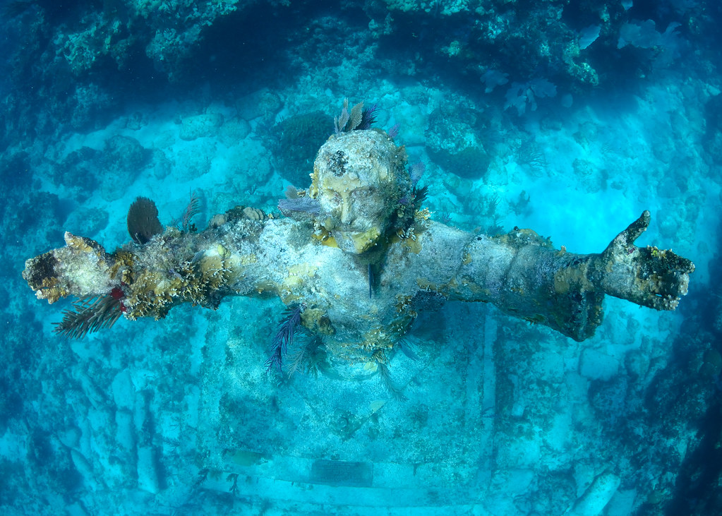 Christ of Abyss Key Largo, John Pennekamp Park
