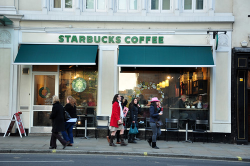 Starbucks. Strand, London. 30 Nov'13