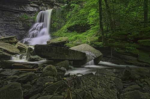 ny newyork waterfall waterfalls streams fingerlakes da1645 moraviany fillmoreglen pentaxk30