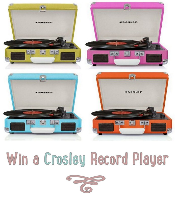 Crosley Record Player Giveaway