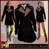 ALB TRISTAN lamb fur coat brown - mesh + shoes by AnaLee Balut - ALB DREAM FASHION