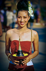Loy Krathong Smile