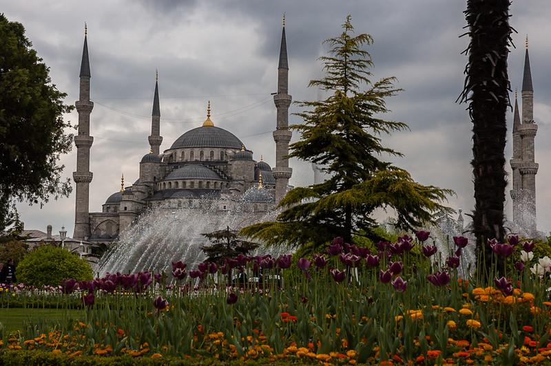 Mezquita azul en Estambul, lugares con encanto de Turquía