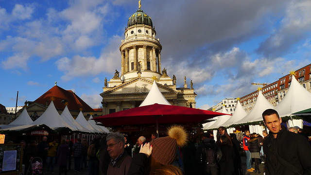 Stepping out in Berlin: Gendarmenmarkt Christmas market