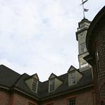 Brick building in williamsburg