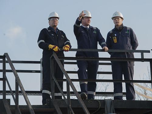 PM's shale gas visit