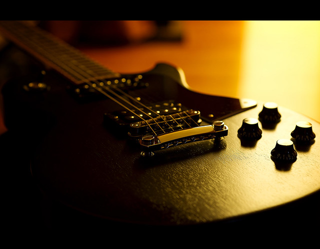 Photo:Sunrise on the Les Paul Special By Dusty J