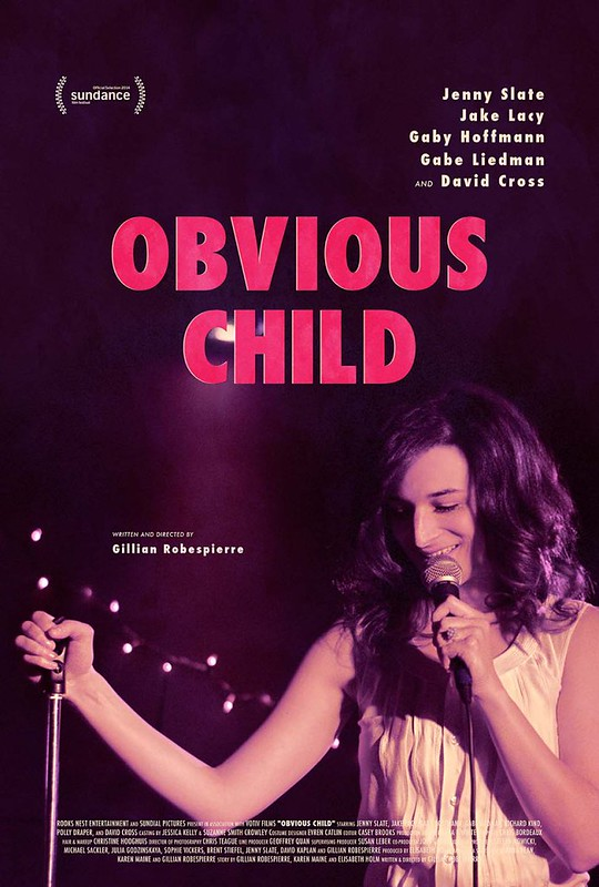 the poster for Obvious Child