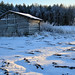 Old frosty barn by - Man from the North -