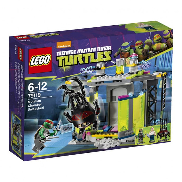 LEGO Teenage Mutant Ninja Turtles 79119 - Mutation Chamber Unleashed