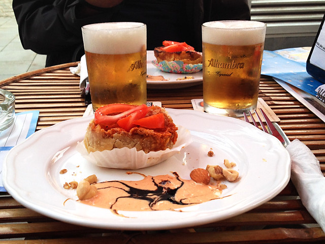 Tapas at Bar cafe Agora in Puerto de la Cruz