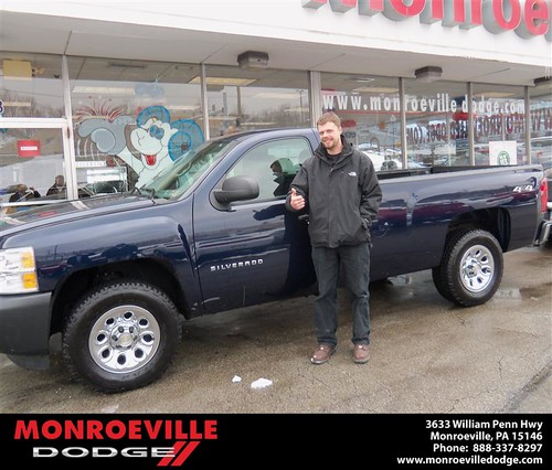 Happy Anniversary to Luke W Glaser on your 2011 #Chevrolet #Silverado 1500 from James  Platt  and everyone at Monroeville Dodge! #Anniversary by Monroeville Dodge