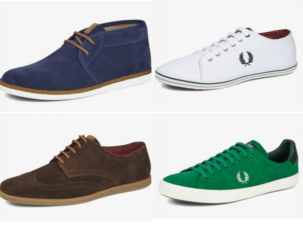 calzado fred perry