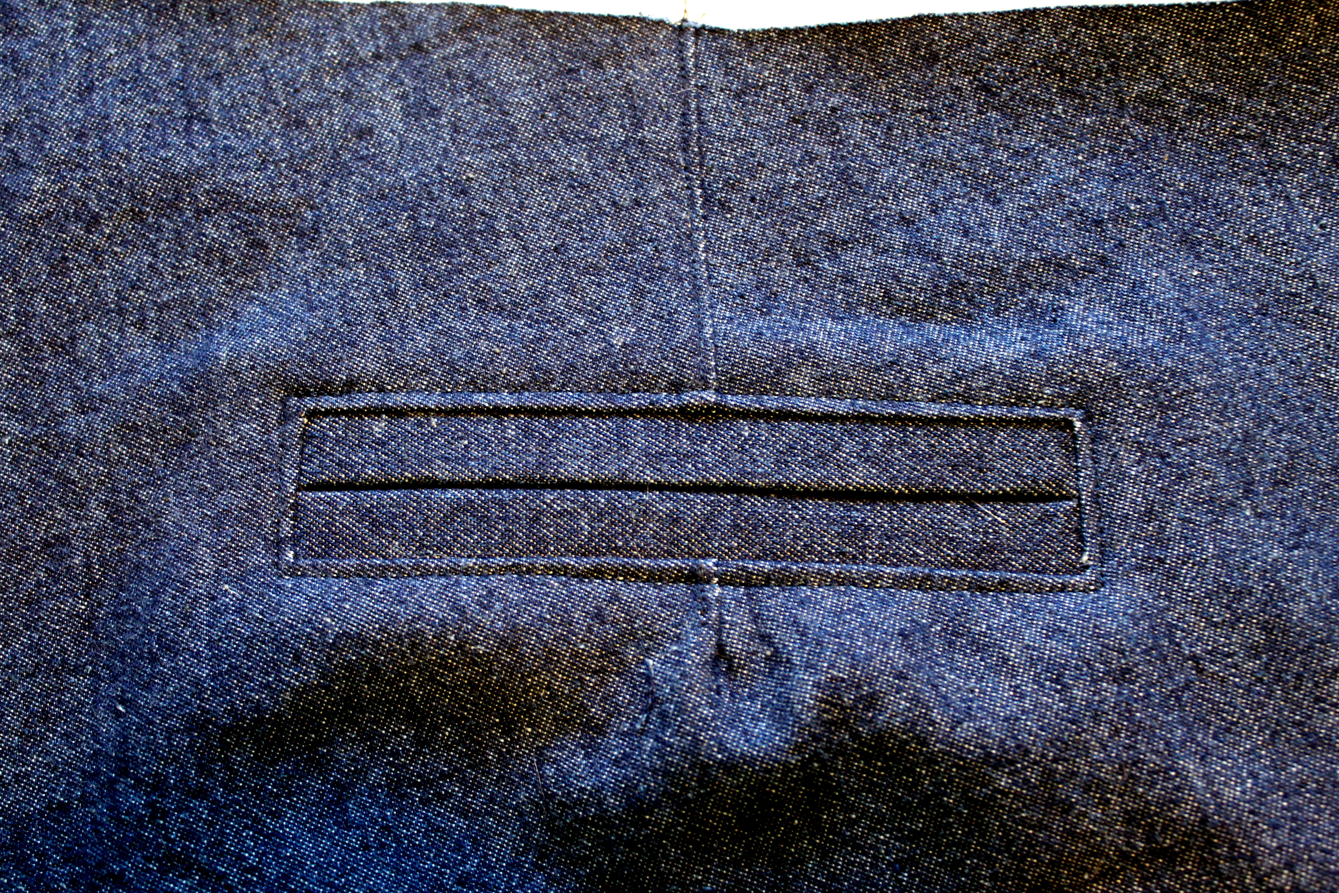 Denim Thurlow welt pockets