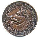 Satirical Coin of Napoleon III obverse