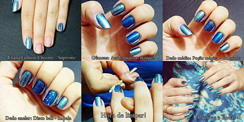 JULIANA LEITE nail art como fazer unhas puro glamour  glitter holográficos e esmaltes lindos