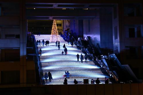 好美的樓梯@富士電視台