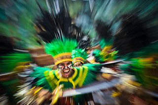 "Dinagyang 2014 Abstractionism : "" Warrior's Way """