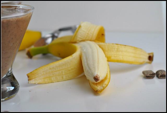 Chocolate Banana Smoothie 2