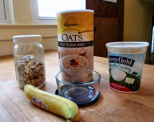 Oats Almonds Yogurt