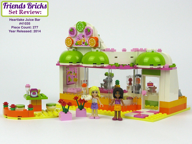 Friends Bricks Heartlake Juice Bar #41035 Review