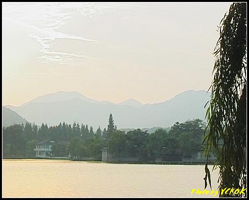 杭州 西湖 (其他景點) - 293 (在西湖十景之 蘇堤 看西裡湖及西湖十景之 花港觀魚)