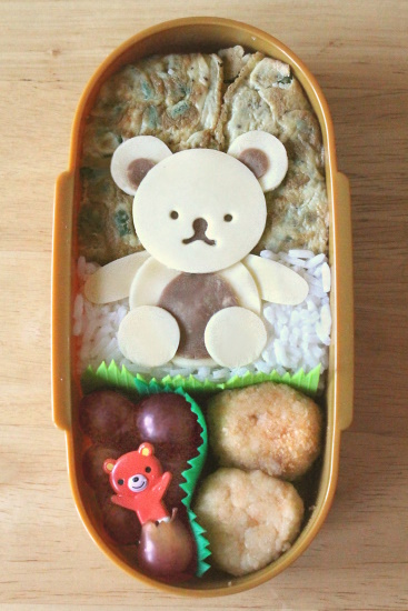 Bento #3: Teddy Bear