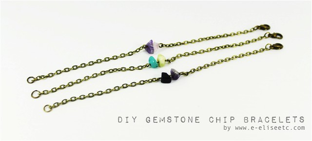 diy gemstone bracelet 0