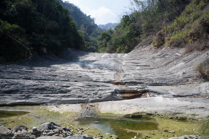 台南私藏景點--關山千層岩瀑布、幽情瀑布 (4)