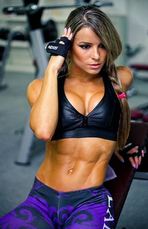 Think, Hot sexy muscle women something also