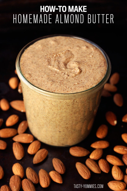 How-to Make Homemade Almond Butter