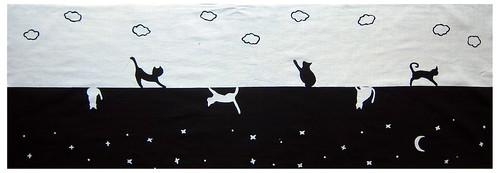 昼の猫夜の猫