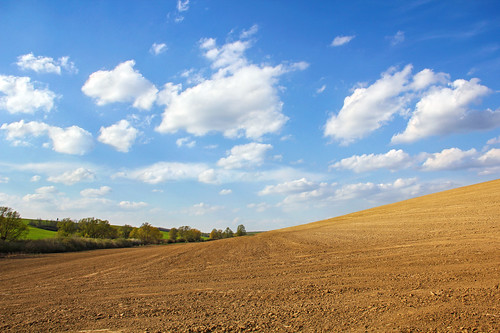 sky field clouds hungary day cloudy hill land plow simple tab hügel 550d somogy