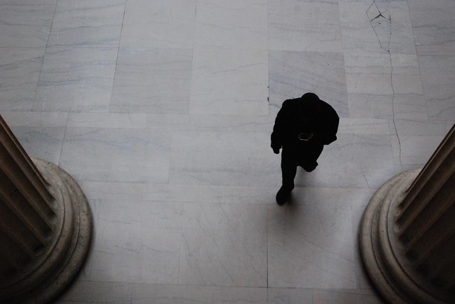 Figure, Union Station, Chicago, 2014