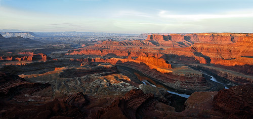 sunrise utah canyonlands gooseneck deadhorsepointoverlook
