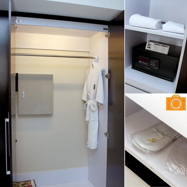 B Hotel closet