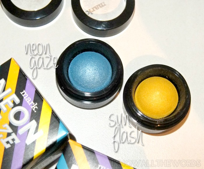 mark. neon gaze eyeshadow- neon gaze and sun flash (3)