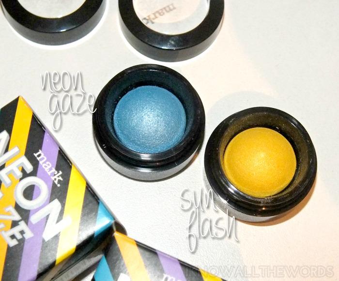 mark. neon gaze eyeshadow- neon gaze and sun flash (3)