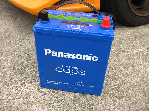 Panasonic caos Battery 自動車バッテリー