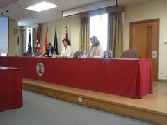 Mesa presentación homenaje Anes