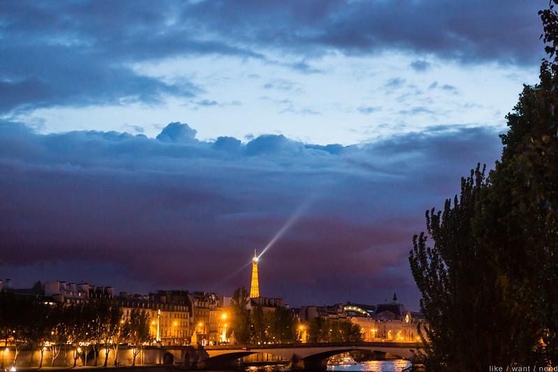 Eiffel Tower, 10:30pm