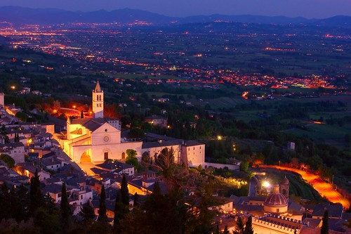 italien sunset italy church landscape italia sony kirche landschaft assisi sonyα900