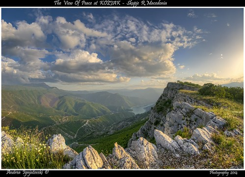 sky sun lake green nature water clouds landscape nikon rocks colours view may beaty macedonia hdr hec skopje lakescape d90 kozjak македонија скопје андреа androsce игњатовски