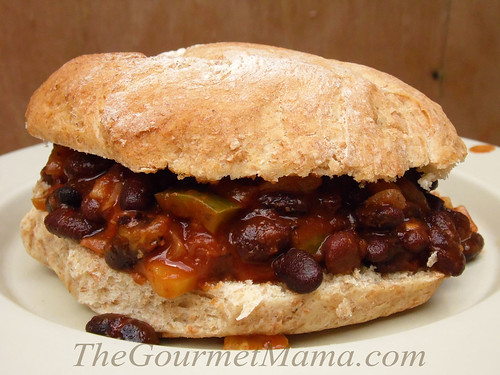 Black Bean Sloppy Joes