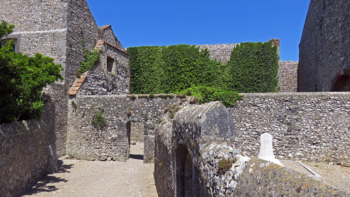 The Chapel of Our Lady of Hi at Cap Fagnet on the Normandy Coast of France