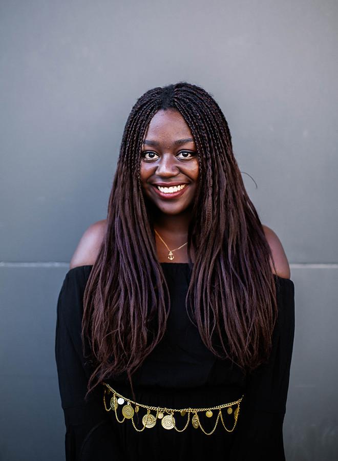 Lois Opoku INDIE Magazine shooting x Youtube