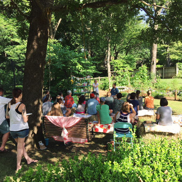 backyard garden workshop