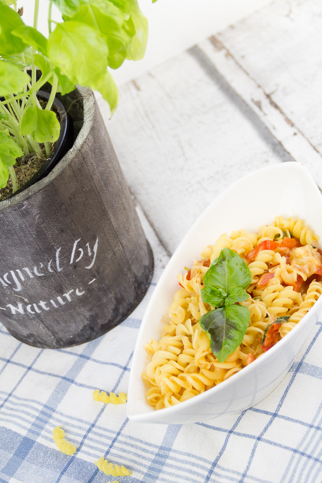 Degustabox, One Pot Pasta, Bernbacher Im Nu Nudeln